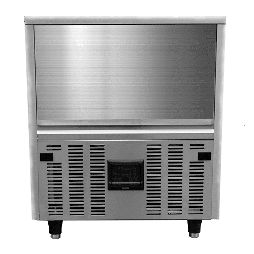 Kitchen Monkey KMIM-220/UC Air Cooled Cube Undercounter Ice Maker 110V, 220lb