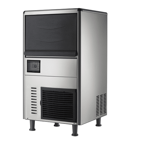 Kitchen Monkey KMIM-66 Air Cooled Cube Undercounter Ice Maker 110V, 66lb