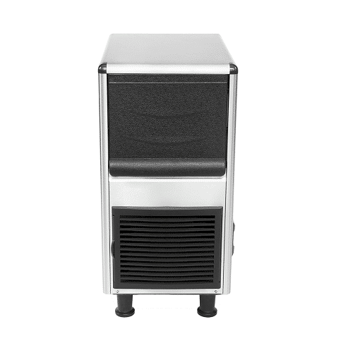 Kitchen Monkey KMIM-77 Air Cooled Cube Undercounter Ice Maker 110V, 77lb