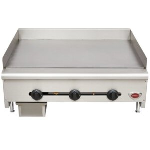 Wells HDG3630G Countertop Gas Griddle 36 inch 90,000 BTU