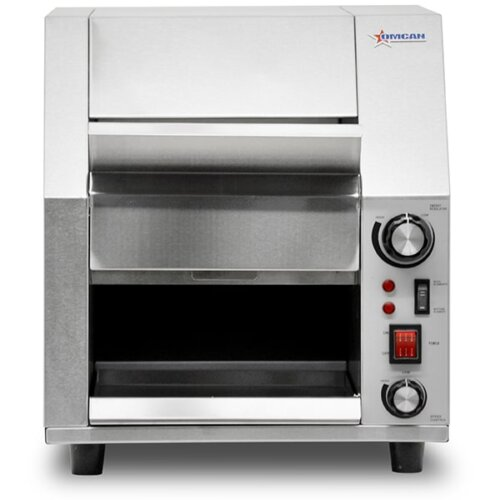 Omcan-19938 Conveyor Toaster Stainless Steel 9,5-inch Belt