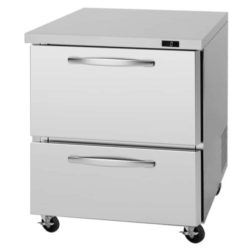 Turbo Air PUF-28-D2-N 28″ 2 Drawer Undercounter Freezer
