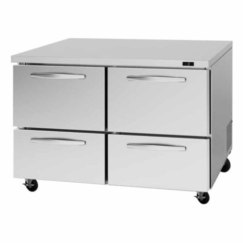 "Turbo Air PUF-48-D4-N 48"" 4 Drawers Undercounter Freezer"
