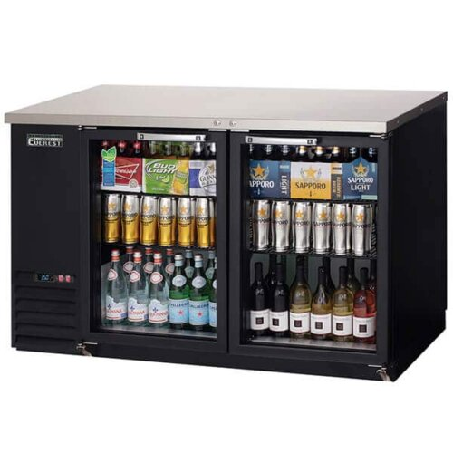 Everest EBB59G-24 Back Bar Refrigerator