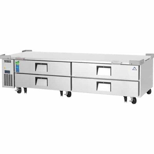 Everest ECB96D4 Chef base 4 drawers 6 cuft 92.5 in